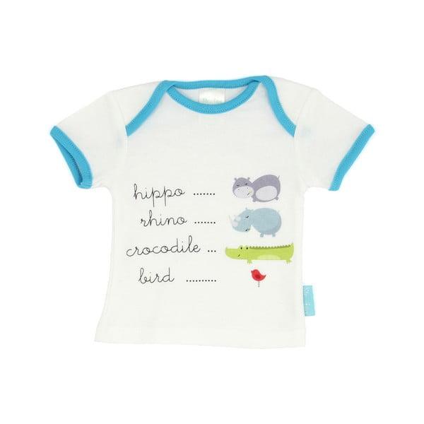 Detské tričko Hippo s krátkym rukávom, veľ. 24 až 36 mesiacov
