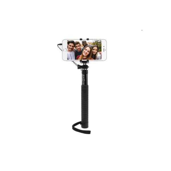 Teleskopická selfie tyč FIXED, čierna