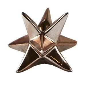 Svietnik KJ Collection Star Copper, 7,3cm