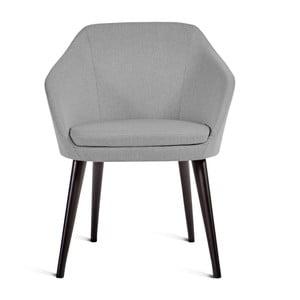Sivá stolička Charlie Pommier S
