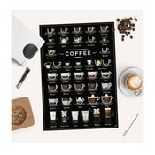 Plagát Follygraph 38 Ways To Make Perfect Coffee, 42 x 59,4 cm