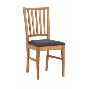 Sada 2 prírodných stoličiek z dubového dreva Folke Filippa