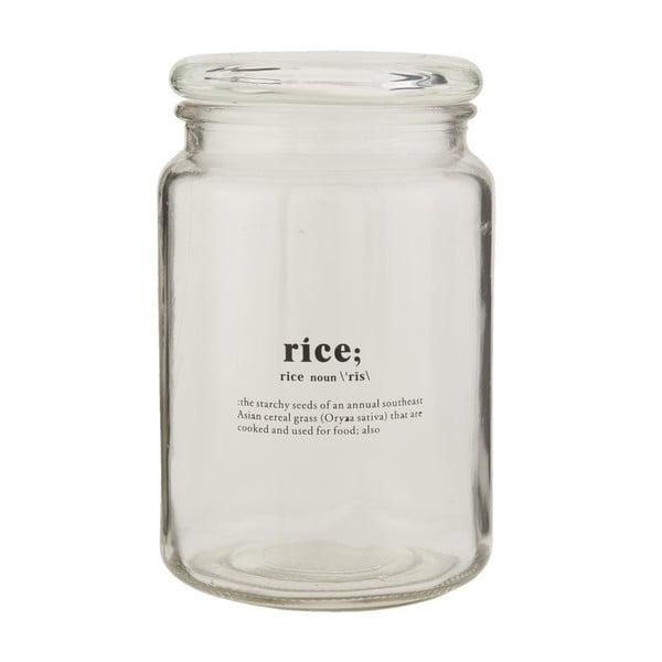Sklenená dóza Clayre & Eef Clayre Rice