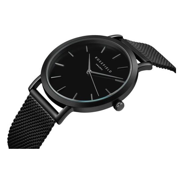 Čierne dámske hodinky Rosefield The Mercer