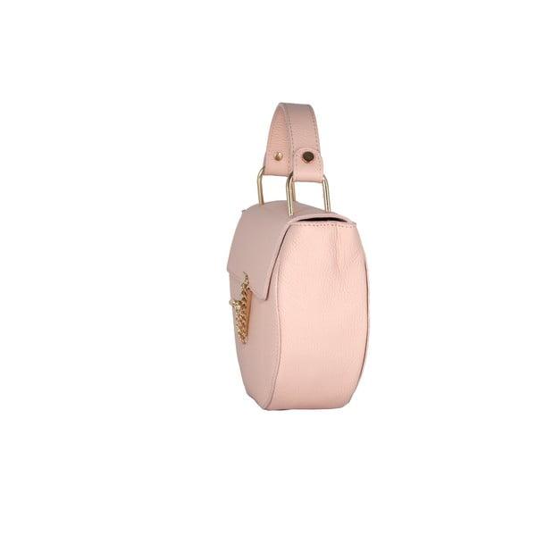 Kožená kabelka Andrea Cardone 2023 Pink