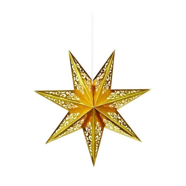 Svietiaca hviezda Valby Gold, 45 cm