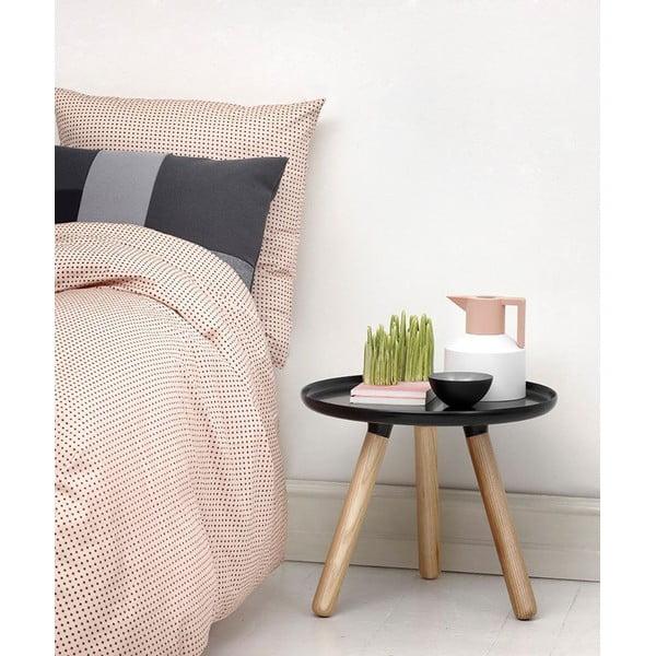 Odkladací stolík Tablo 50 cm, čierny