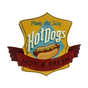 Ceduľa na stenu Novita Hot Dogs