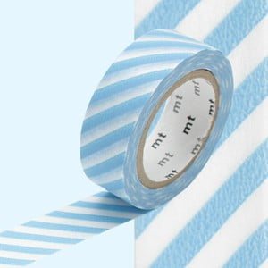 Washi páska Stripe Baby Blue
