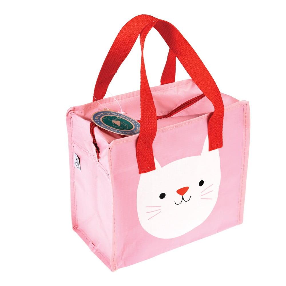 Ružová taška Rex London Cookie the Cat