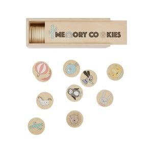Detská drevená hra na pamäť OYOY Cookies