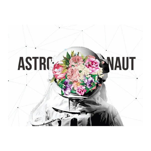 Obraz na plátne Astronaut, 60 x 60 cm