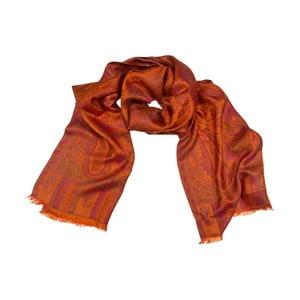 Šatka Shirin Sehan Daisy Orange Pink