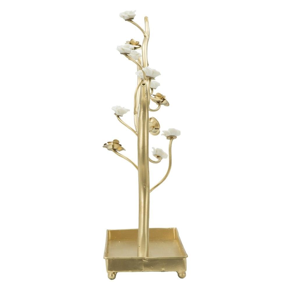 Stojan na šperky zo železa v zlatej farbe Mauro Ferretti Tree