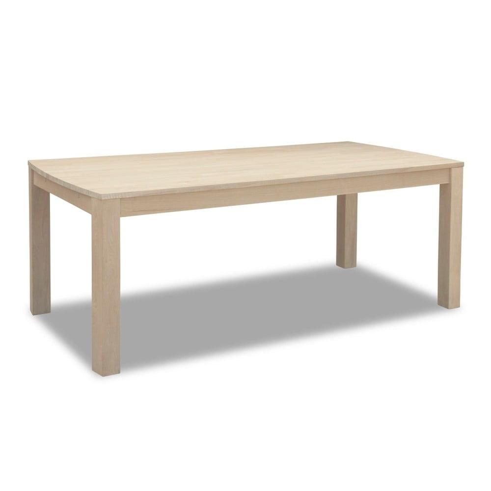 Dubový jedálenský stôl Furnhouse Paris, 90 × 140 cm