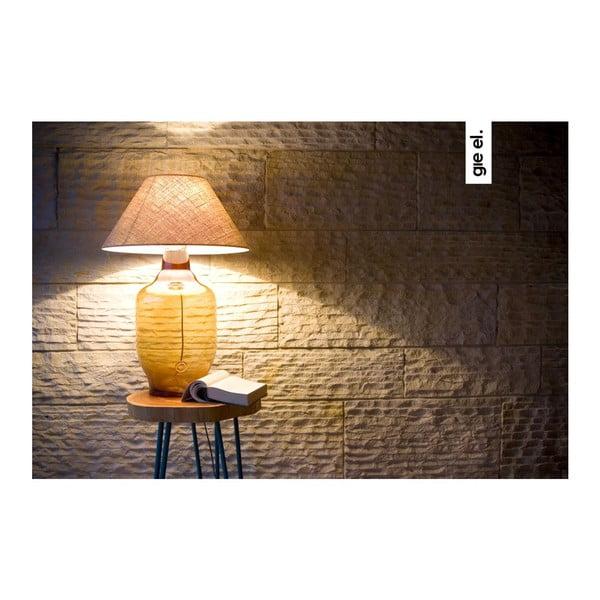 Stolová lampa Glass Classic, olivová