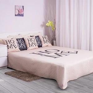 Prešívaná prikrývka Home 150x200 cm, krémová