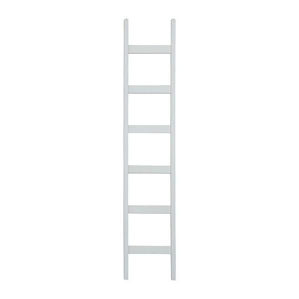 Biely dekoratívne rebrík z borovicového dreva Støraa Annabelle