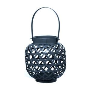 Bambusový lampáš Web Night Blue