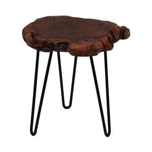 Odkladací stolík s doskou z cédrového dreva 360 Living Montanio 422