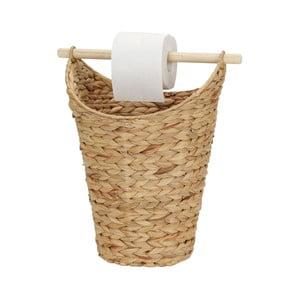 Držiak na toaletný papier z vodného hyacintu A Simple Mess Kurv