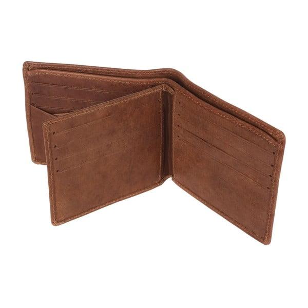 Kožená peňaženka Merrick Tan