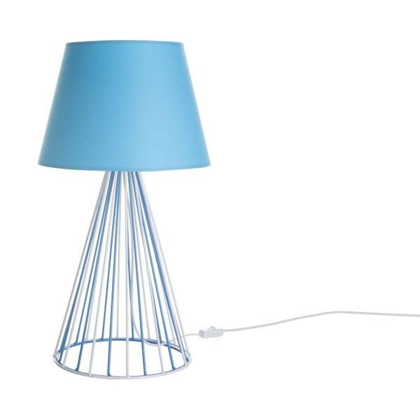 Stolová lampa Wiry Blue/White/Blue