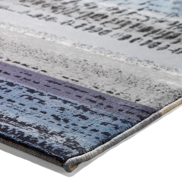 Koberec Esprit Graphic Edge Blue, 120x180 cm