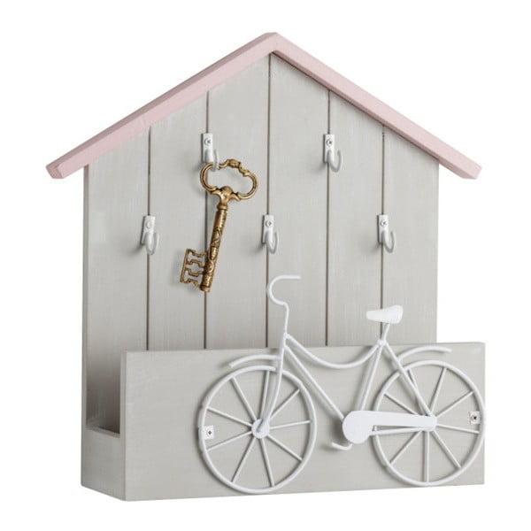 Vešiak na kľúče s odkladacou plochou Brandani Bicicle