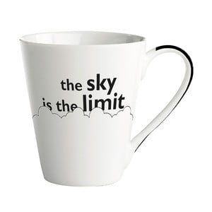 Porcelánový hrnček KJ Collection The sky is the limit, 300 ml