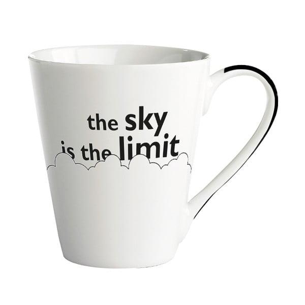 Porcelánový hrnček KJ Collection The Sky Is The Limit, 300 ml
