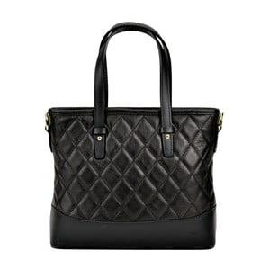 Čierna kožená kabelka Renata Corsi Muriello Lento