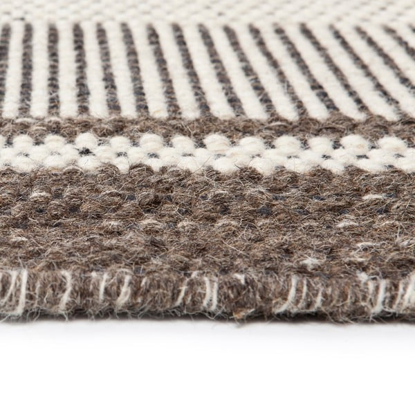 Vlnený koberec Sheen Grey, 140x200 cm