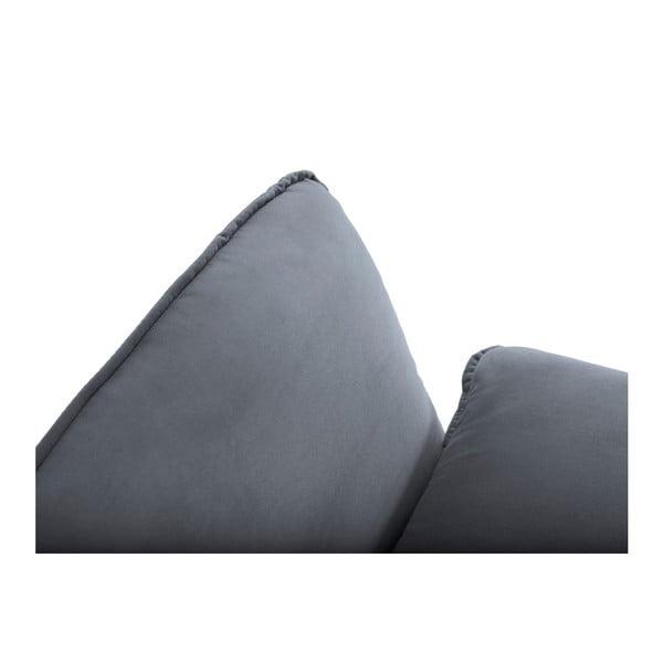 Sivá rohová pohovka Cosmopolitan Design Vienna, pravý roh