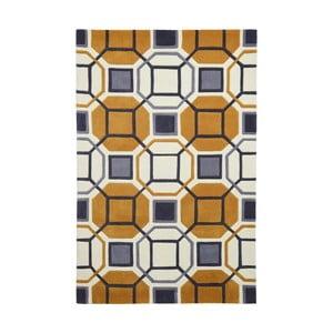 Žltý koberec Think Rugs Hong Kong Hammam, 150 x 230 cm