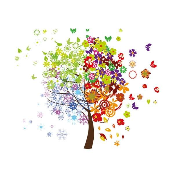 Dekoratívna samolepka Farebný strom