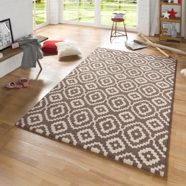 Hnedý koberec Mint Rugs Diamond Ornamental, 133 x 195 cm