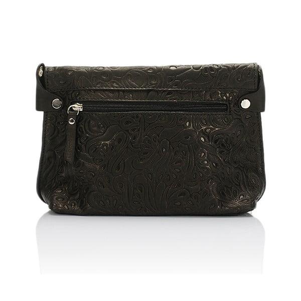 Kožená kabelka Giorgio Costa 5005 Black