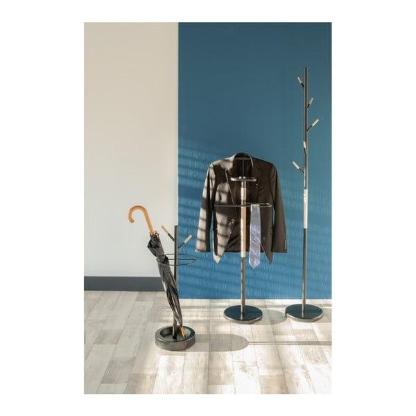 Čierny vešiak na kabáty Leitmotiv Fushion