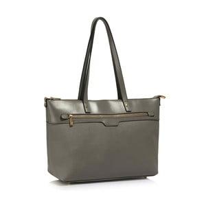 Sivá kabelka L&S Bags Grab