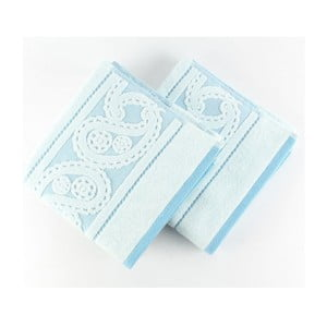 Sada 2 uterákov Hurrem Blue, 50x90 cm