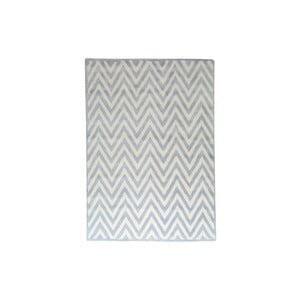 Vlnený koberec Ziggy Light Blue, 122x183 cm
