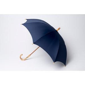 Bambusový dáždnik Gents, modrý