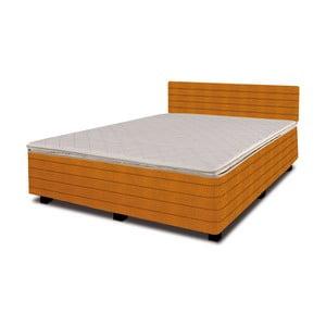 Postel s matrací New Star Orange, 140x200 cm