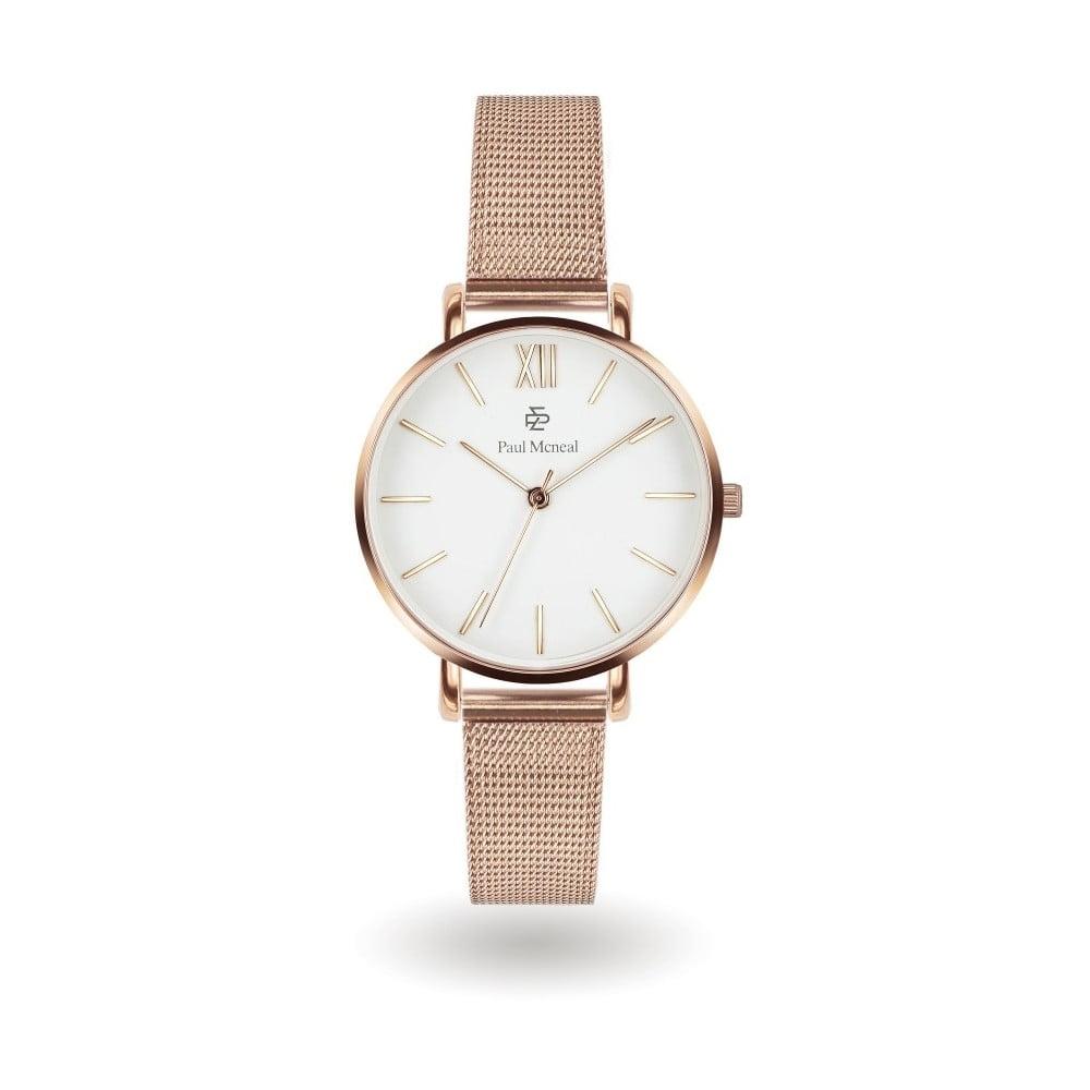 Dámske hodinky s remienkom v zlatej farbe z antikoro ocele Paul McNeal  Timeless 712935c6a5b