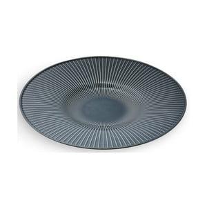 Antracitový porcelánový tanier Kähler Design Hammershoi Dish, ⌀ 40 cm