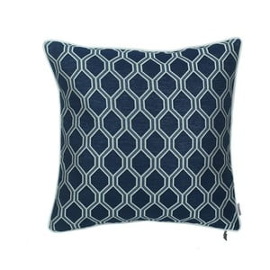 Modrá obliečka na vankúš Apolena Mae, 43 x 43 cm