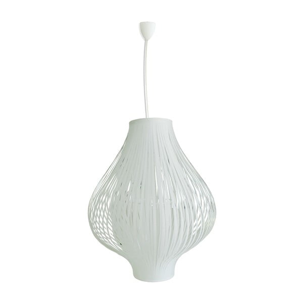 Závesné svetlo White Lampade