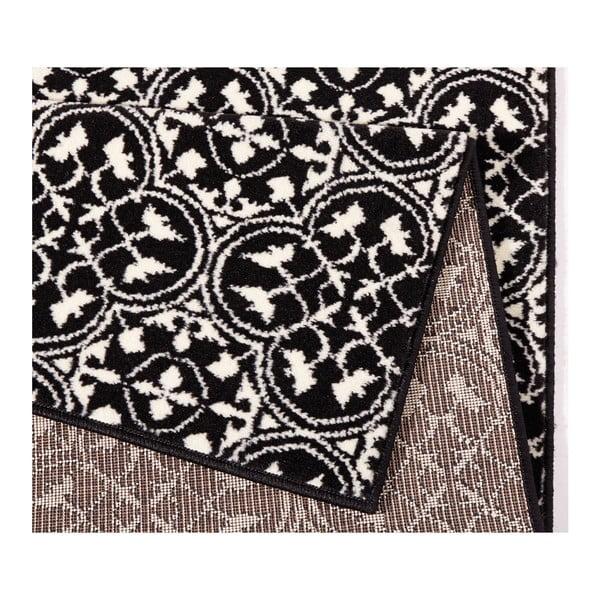 Čierny koberec Hanse Home Gloria Pattern, 200 x 290 cm