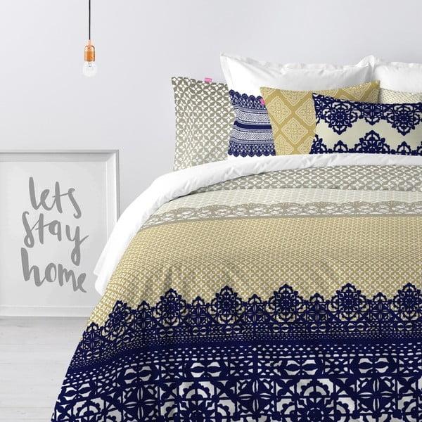 Obliečka na paplón z čistej bavlny Happy Friday Embroidery, 140 x 200 cm